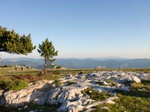 La réserve des Hauts plateaux du Vercors au dessus de Châtillon