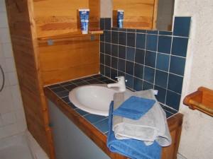 photo salle de bain gite